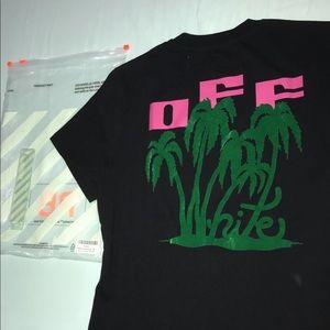 Off white Palm tree shirt - SS 19